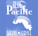 $25 Gift Certificate For $10 at Blue Pacific Sushi Grill.