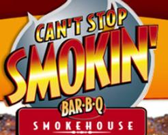 Can't Stop Smokin' Barbq Logo