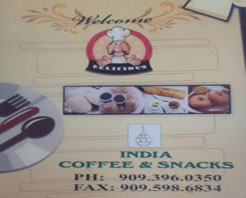 I.C.S. India Coffee & Snacks in Diamond Bar, CA at Restaurant.com