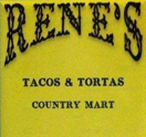 Rene's Tacos and Tortas Country Mart Logo