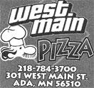West Main Pizza Logo