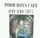 Poor Boys Cafe & Lounge Logo