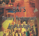 B&J's Family Restaurant And Lounge Logo