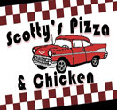 Scotty's Pizza & Chicken Logo