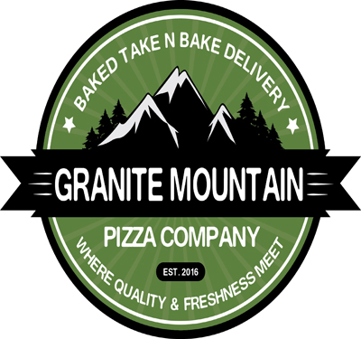 Granite Mountain Pizza Co. Logo