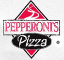 Pepperoni's Pizza Logo