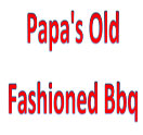 Papa's Old Fashioned BBQ Logo