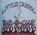 Little Creek Bar-B-Cue Company Logo