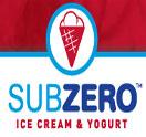 Sub Zero Ice Cream and Yogurt Logo