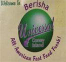 Berisha Universal Coney Island Logo