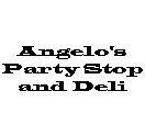 Angelo's Party Stop and Deli Logo