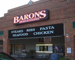 Barons Steaks & Spirits in Myrtle Beach, SC at Restaurant.com