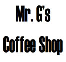 Mr. G's Coffee Shop Logo