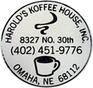 Harolds Koffee House Logo