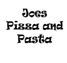 Joes Pizza And Pasta Logo