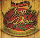 Blondie's Trophy Room Logo