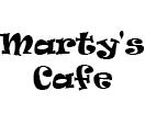 Marty's Cafe Logo