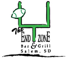 The End Zone Bar & Grill Logo