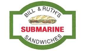 Bill & Ruth's Submarine Shop Logo