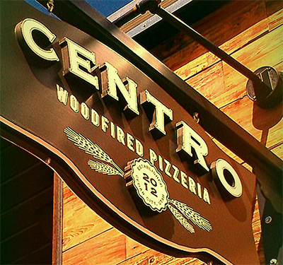 Centro Woodfired Pizzeria Logo