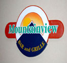 Mountainview Bar and Grille Located in The Chateau Resort and Conference Center Logo