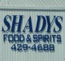 Shady's Food & Spirits Logo