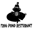 Frog Pond Restaurant Logo