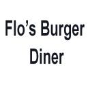 Flo's Burger Diner Logo