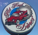 Jeff's Hot Rod Diner Logo