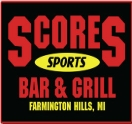 Scores Sports Bar & Grill Logo