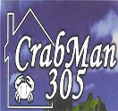 CrabMan 305 Logo