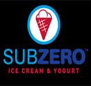 Sub Zero Ice Cream & Yogurt Logo