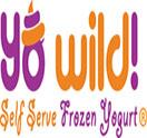 Yo Wild! Self-Serve Frozen Yogurt Logo