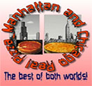 Manhattan Chicago Pizza Kendall Logo