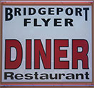 Bridgeport Flyer Diner Logo