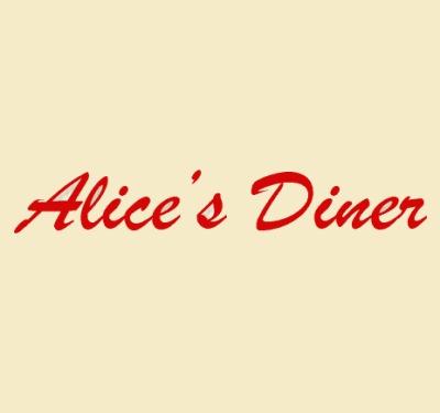 Alice's Diner Breakfast & Lunch Logo
