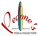 PEDONES PIZZERIA AN ITALIAN KITCHEN Logo