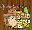 Betty Faye's Cafe Logo