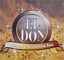 El Don Restaurant Logo