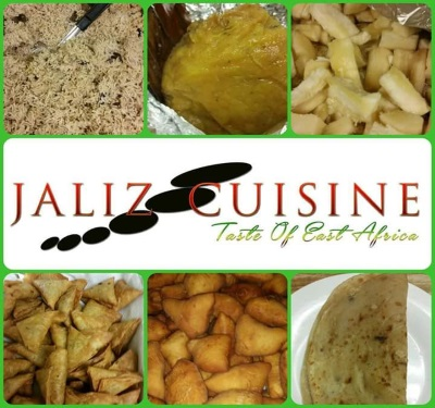 Jaliz Cuisine of East Africa Logo