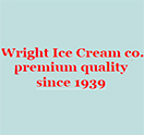 Wright Ice Cream co. Logo