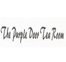 The Purple Door Tea Room Logo