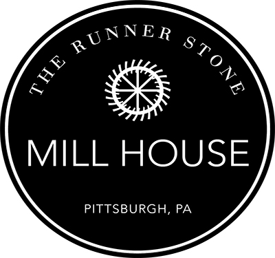 Runner Stone Mill House Logo