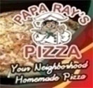 Papa Ray's Pizza Logo