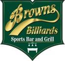 Brown's Billiards Of Raleigh Logo