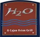 H2O Grill and Bonsai Sushi Bar Logo