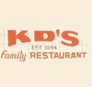 K D's Family Restaurant Logo
