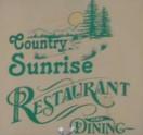 Country Sunrise Restaurant Logo