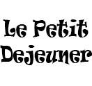LE PETIT DEJEUNER Logo