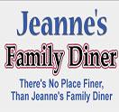 Jeanne's Family Diner Logo